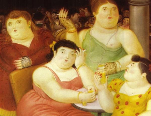 Sentirsi grassi guardandosi allo specchio