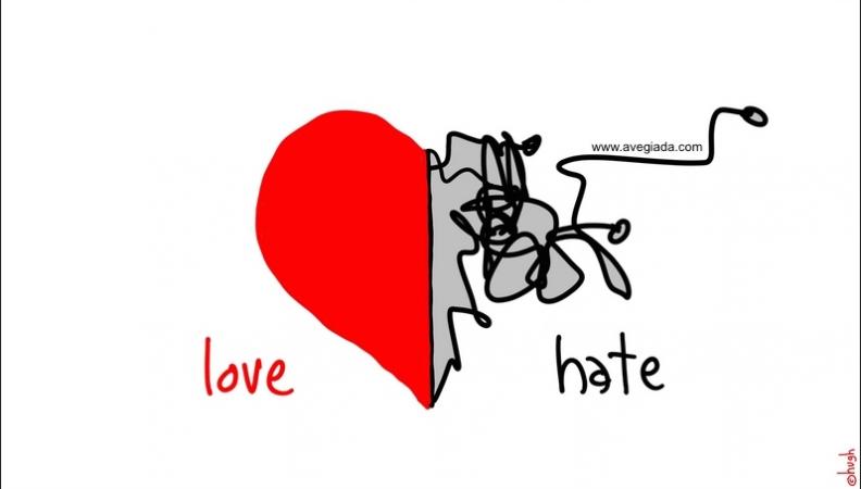 Amore odio e psicologia: esiste una relazione tra questi sentimenti?